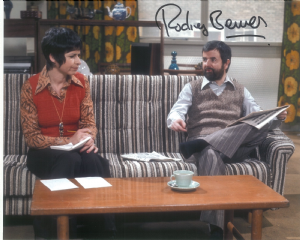 Rodney Bewes (The Likely Lads) - Genuine Signed Autograph 10197